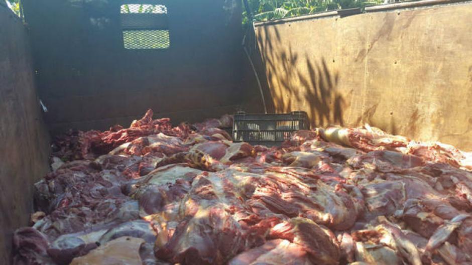 La carne de caballo se diferencia de la carne de res por el color más oscuro  y un sabor dulce. (Foto: elsalvador.com)
