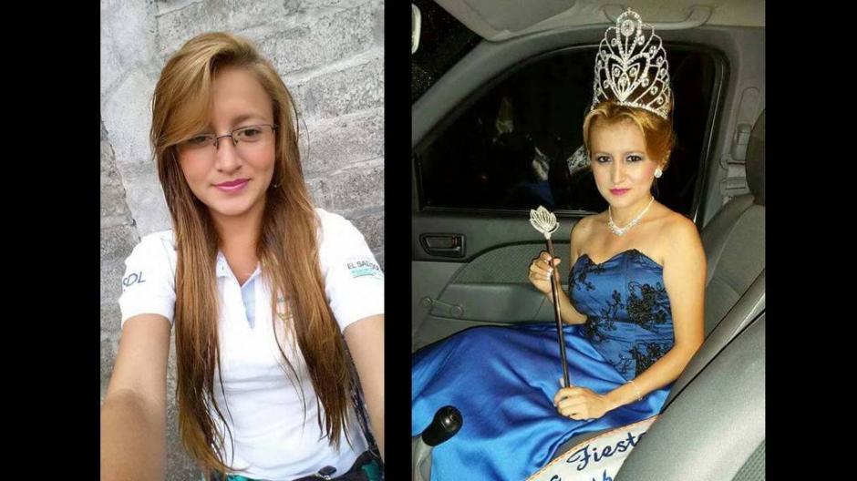 Padilla Flores es reina de belleza y trabaja para Municipalidad de Morazón. (Foto: Twitter)