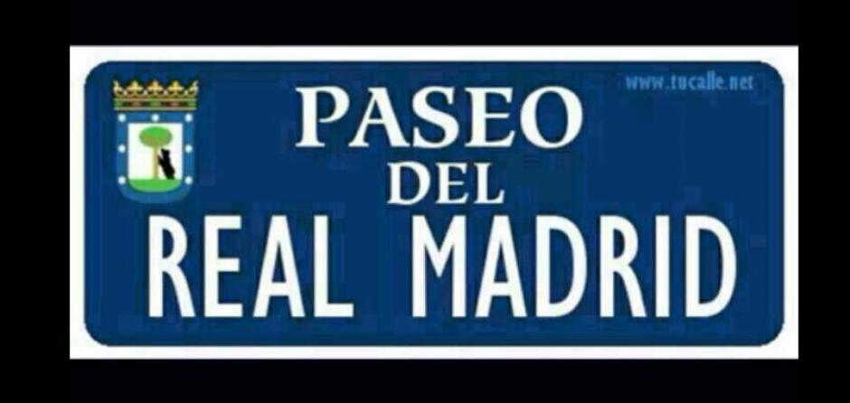 El paseo del Real Madrid en el derbi. (Foto: Twitter)