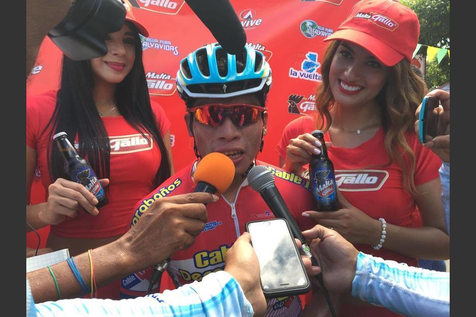 """""""Había quedado segundo y tercero, pero quería un primer puesto"""", comentó Ajpacajá. (Foto: Orlando Chile/Nuestro Diario)"""