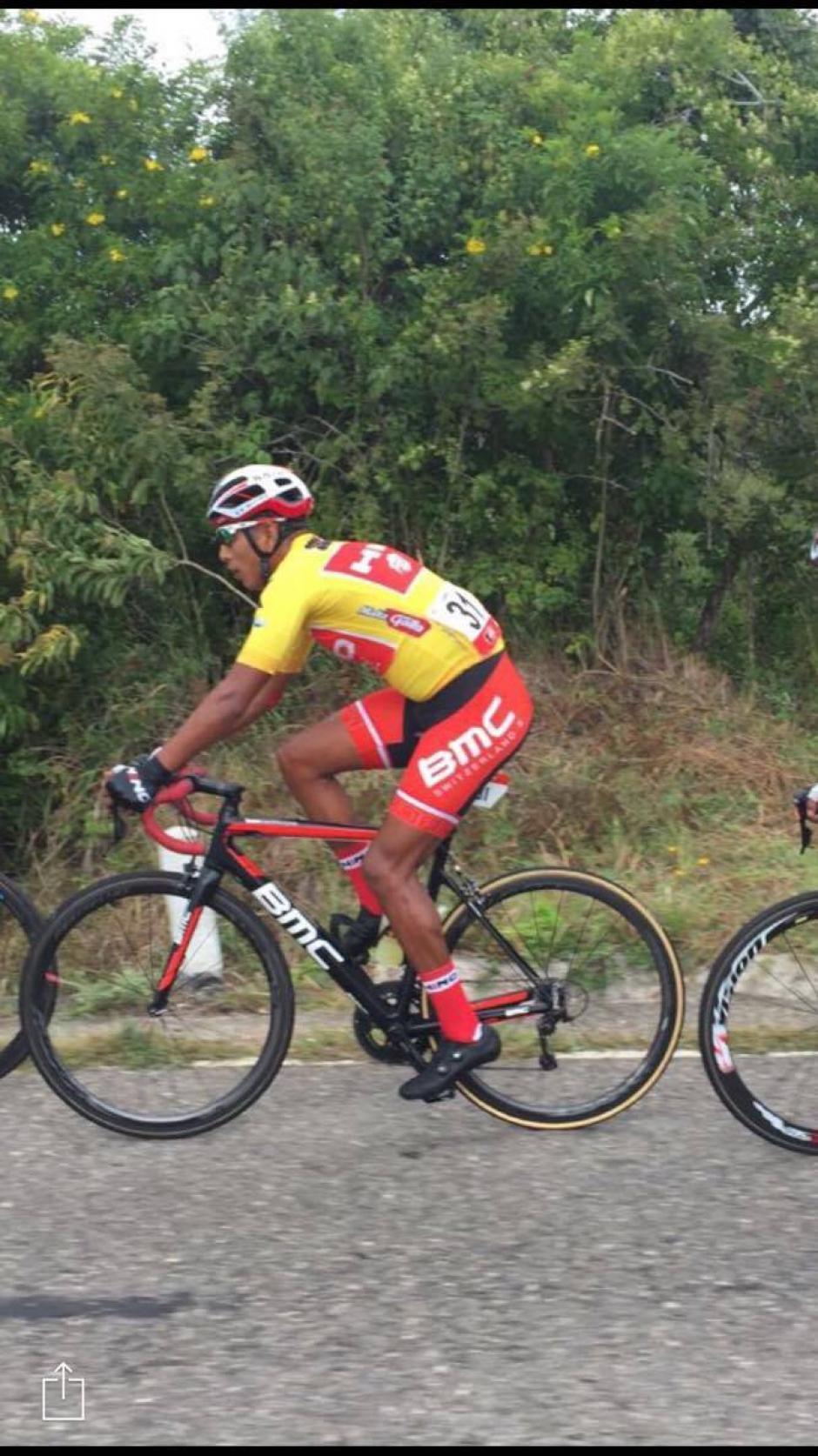 Alder Torres ganó la primera etapa y sigue a la cabeza. (Foto: Orlando Chile/Nuestro Diario)