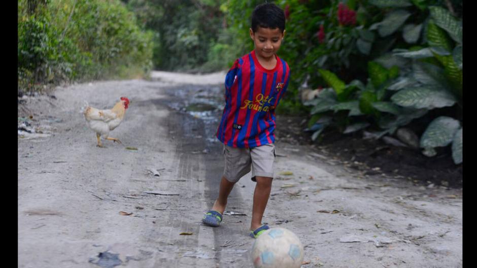 El pequeño Andy es un prodigioso de los estudios y los deportes. (Foto: EDH Deportes)
