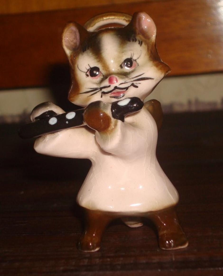 Este es uno de los fundadores de su colección felina. (Foto: Carmen de Aldana)