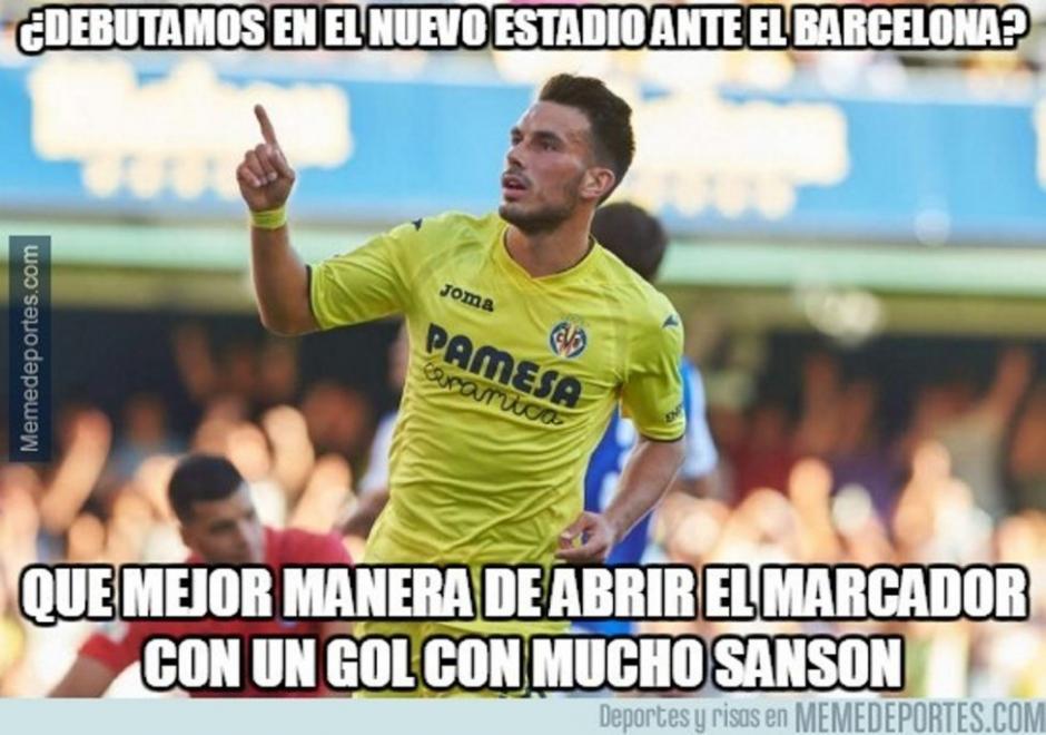 Sansone anotó el gol que ponía en ventaja al Villarreal. (Foto: Twitter)