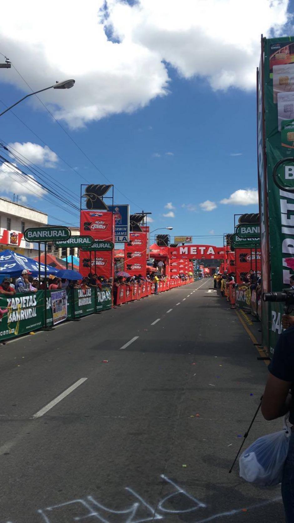 El domingo continuará la vuelta. (Foto: Byron De La Cruz/Nuestro Diario)
