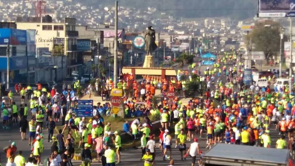 Tres guatemaltecos se adjudicaron los primeros lugares de la carrera. (Foto: Stereo 100)