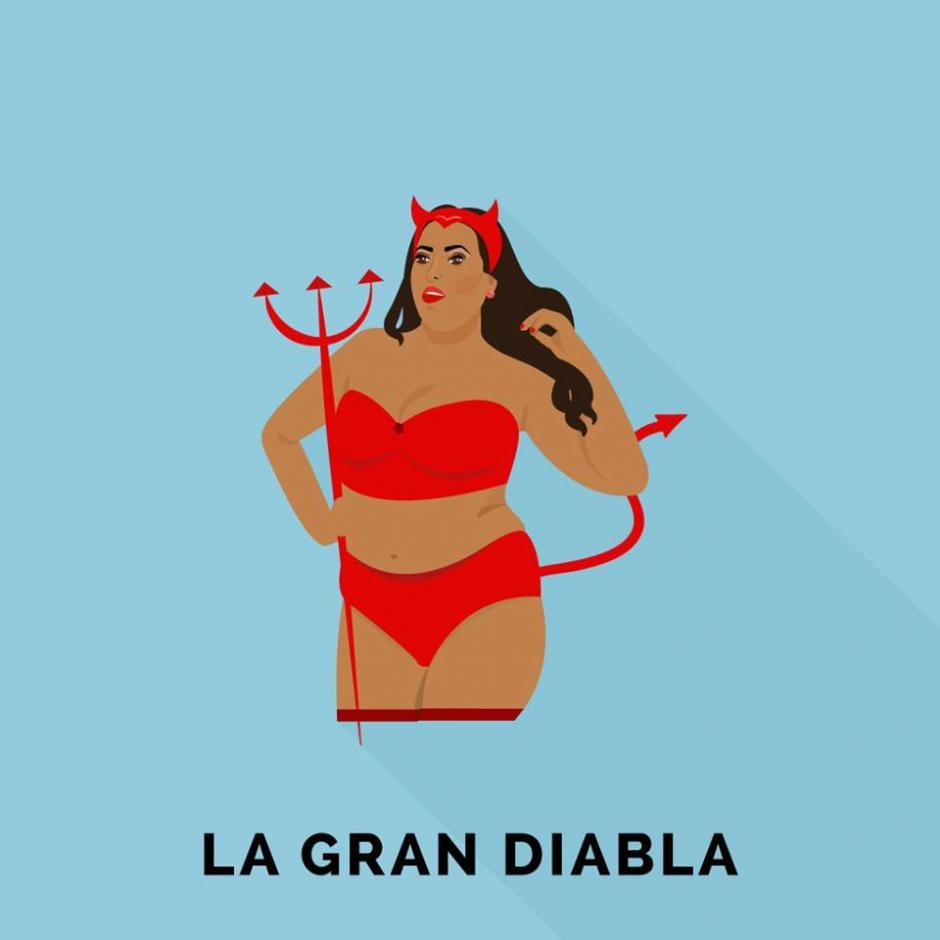 Y cuando te ponen como la gran diabla, mejor ni escribirte. (Foto: Guatemoji)
