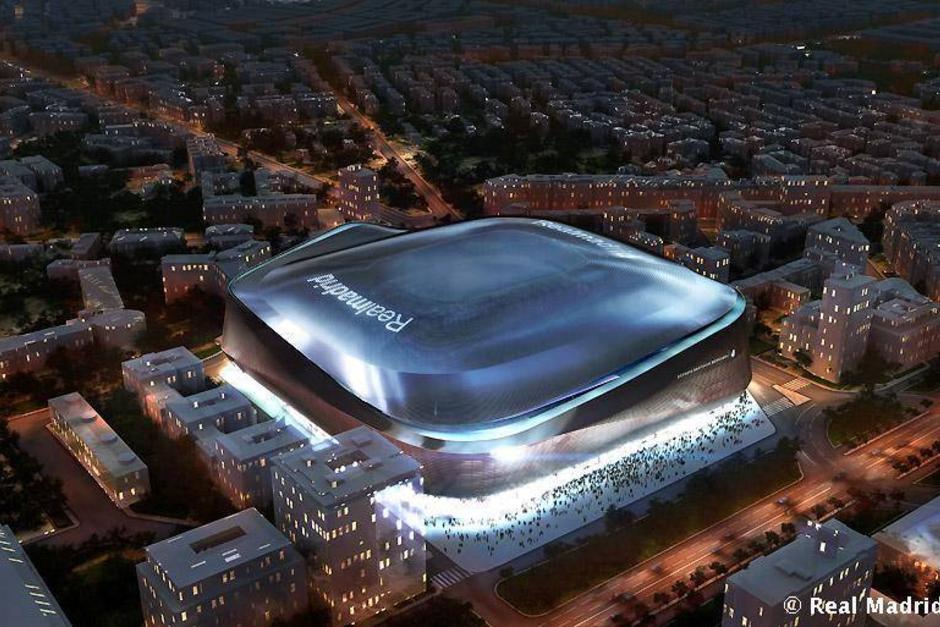 """La construcción del """"nuevo Bernabéu"""" costará alrededor de 400 millones de euros. (Foto: realmadrid.com)"""
