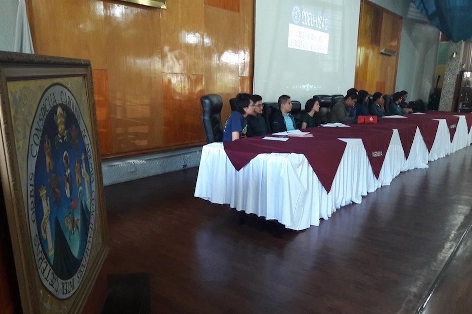 Los estudiantes de la USAC convocaron a elecciones. (Foto: Javier Lainfiesta/Soy502)