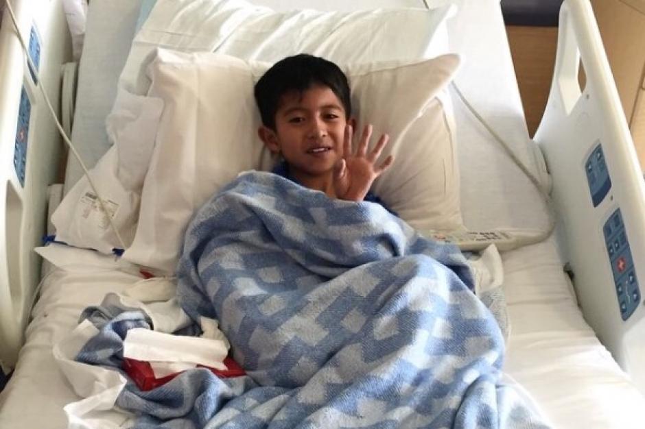 El pequeño Osdi Ramírez viajó en el regazo de su padre por más de dos semanas para buscar una solución al problema de su corazón en Estados Unidos. (Foto: El Paso Times)