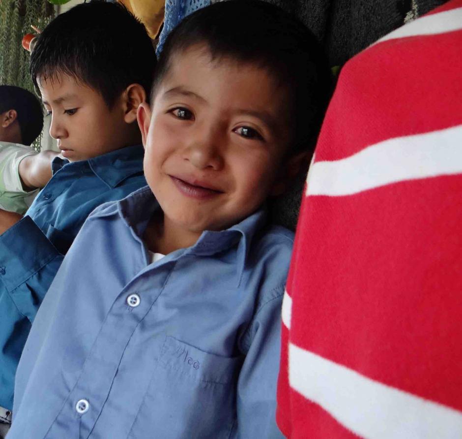 El niño nació con un problema que no pudo ser tratado en Guatemala y por eso su padre decidió viajar para encontrar una solución, dejando a su familia en Guatemala. (Foto: Orbelio Ramírez)