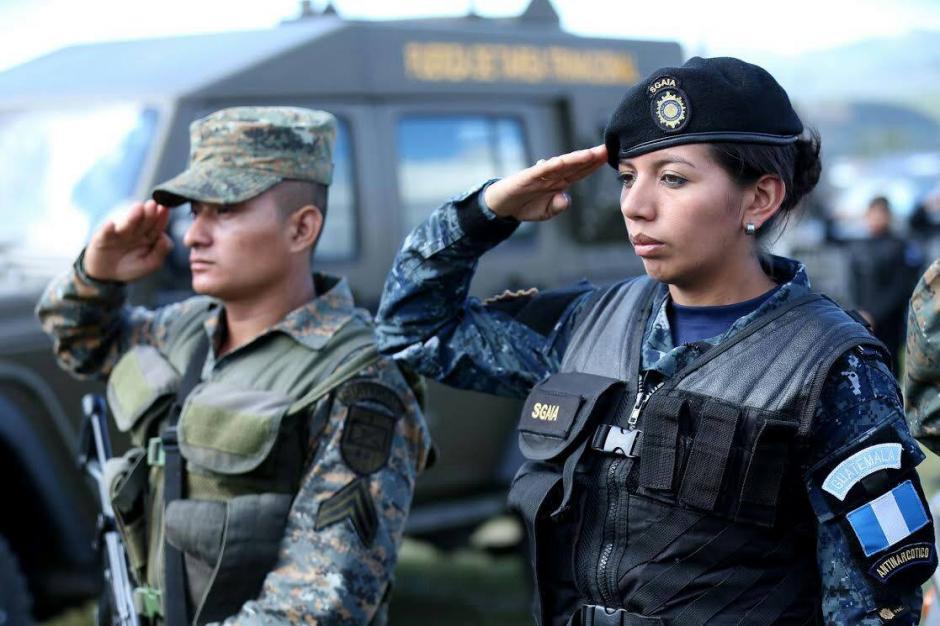 Los agentes de los tres países colaboraran en contra de ilícitos. (Foto: Mingob)