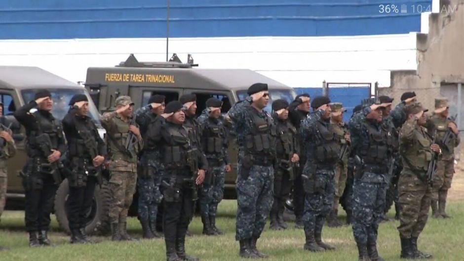 La Fuerza de tarea investigará y perseguirá al crimen organizado en los tres países. (Foto: Mingob)