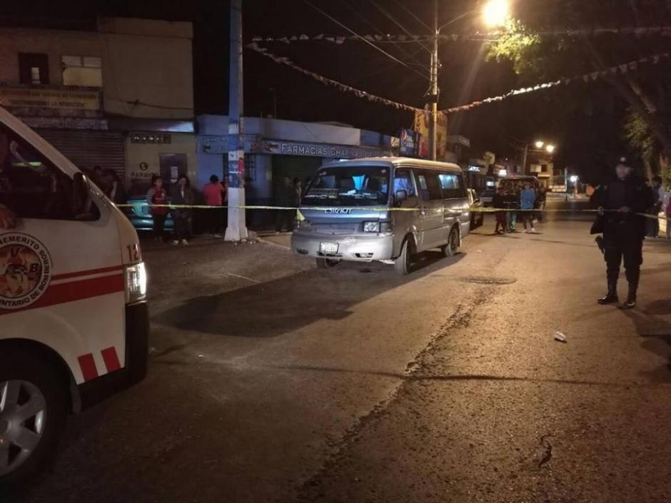 El ataques se registró la noche del sábado. (Foto: Bomberos Voluntarios)