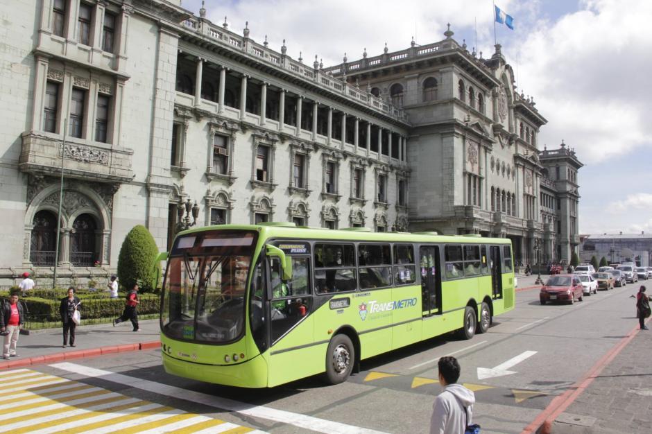 El Transmetro circulará en horario extendido en el Centro Histórico. (Foto: Fredy Hernández/Soy502)