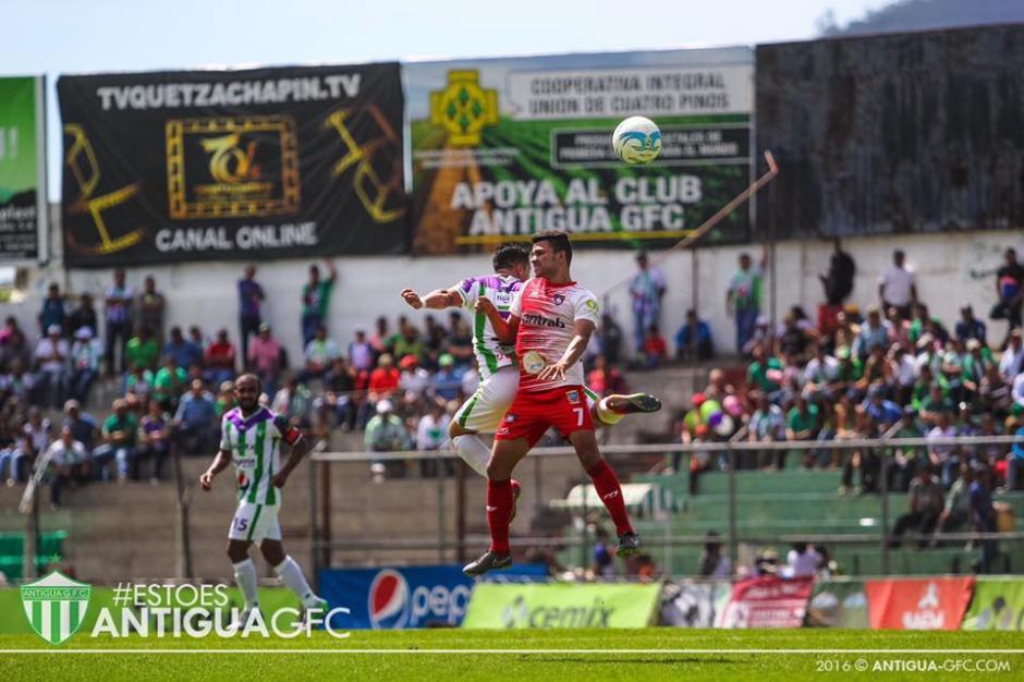 Este acto no fue del agrado de la directiva del equipo miteco. (Foto: Antigua GFC)