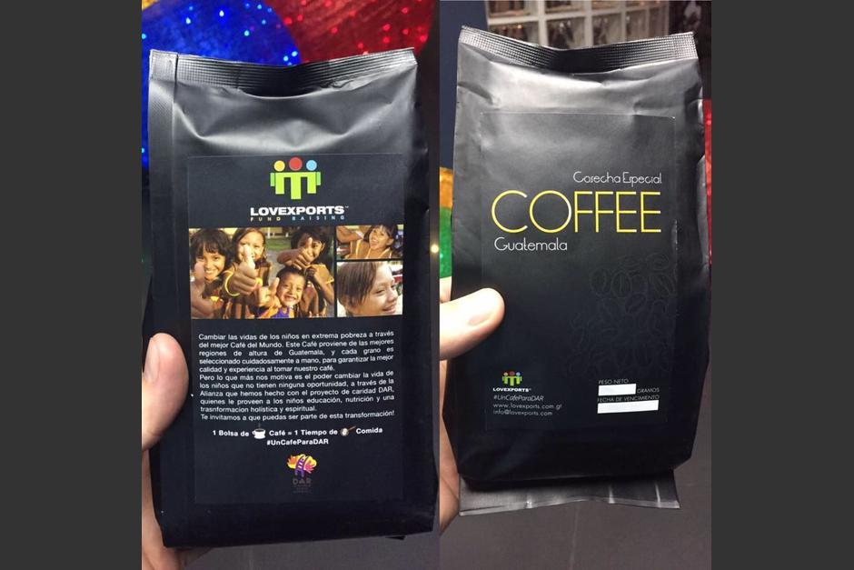 Amantes del café guatemalteco: ahora pueden llevar un plato de comida a quien más lo necesita. (Foto: Lovexports)
