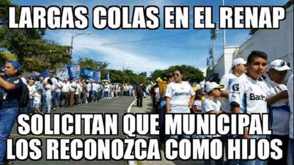 Los memes del Renap y Comunicaciones no faltaron. (Foto: Twitter)