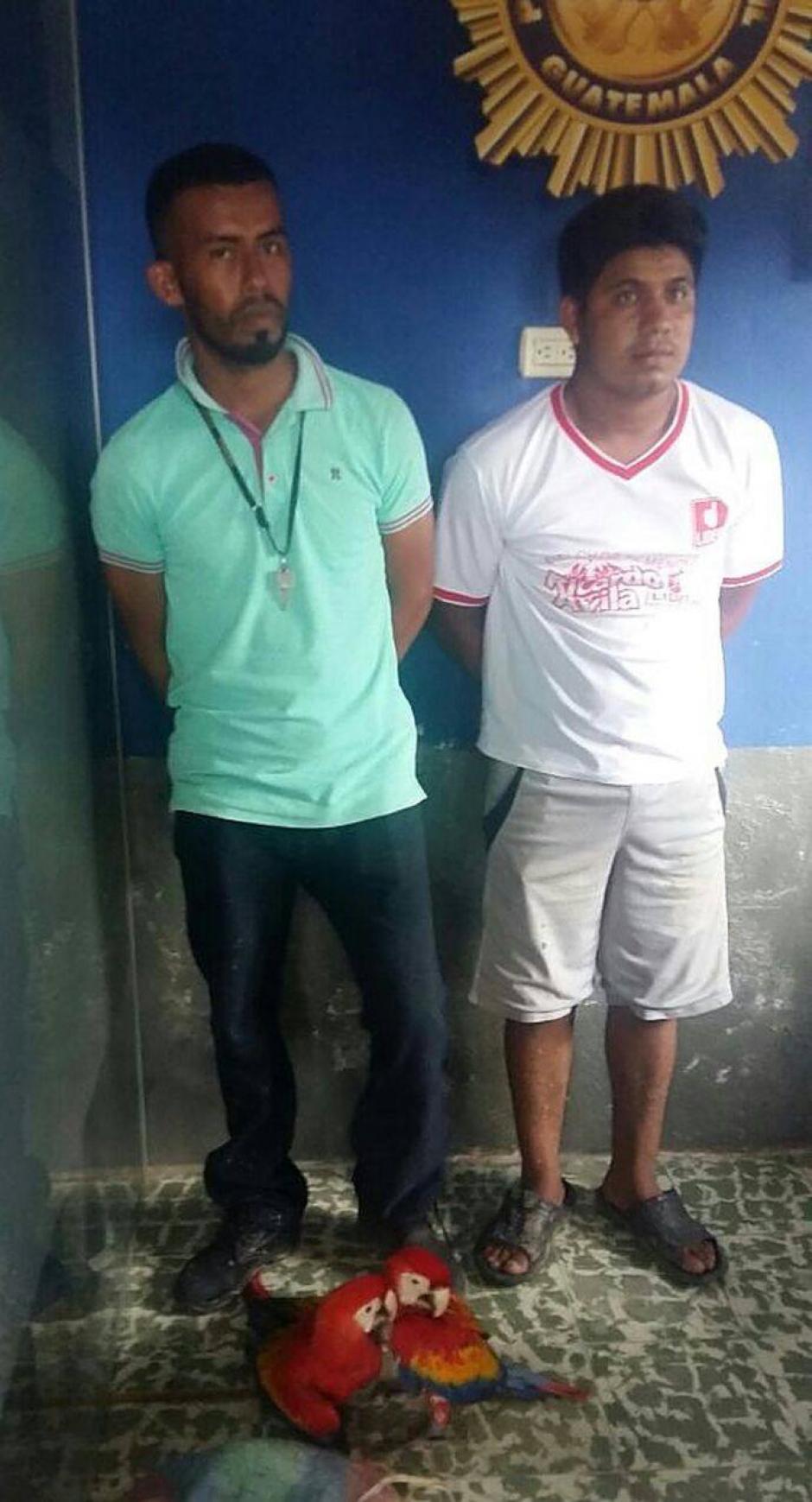 Los dos hombres fueron sentenciados. (Foto: CONAP)