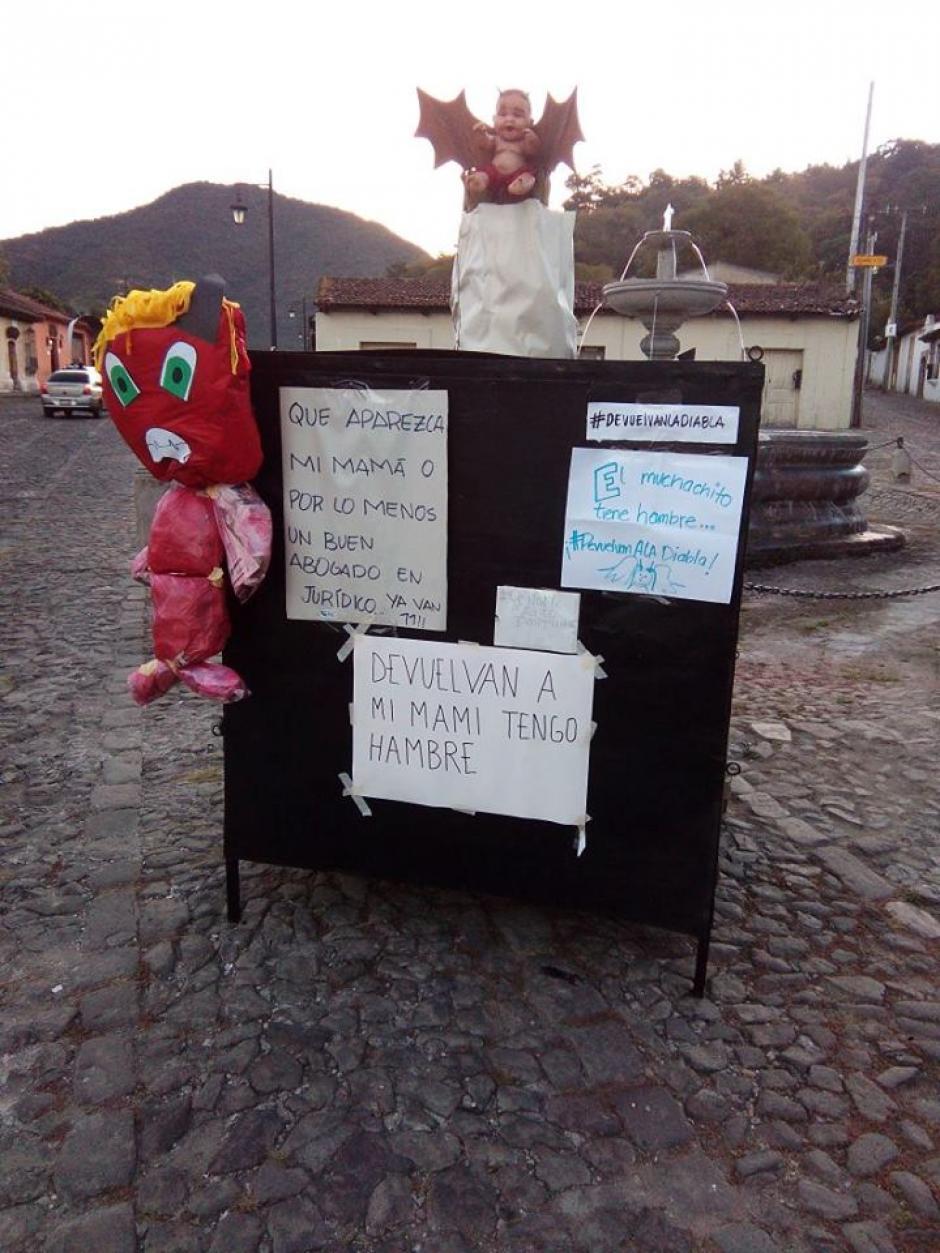 Esta tarde se espera una manifestación frente a la municipalidad. (Foto: Jóvenes de Guatemala)