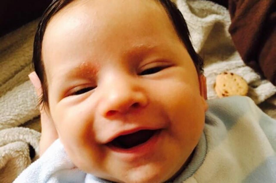 Kael, un recién nacido, tiene una condición cardíaca severa. (Foto: Facebook)