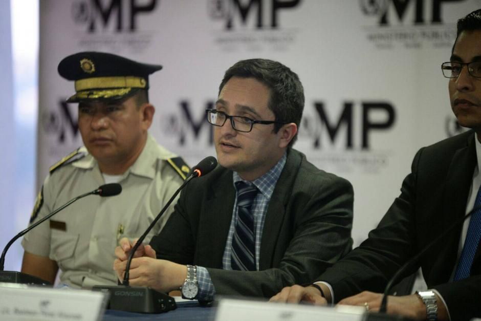 Según Juan Francisco Sandoval, jefe de la FECI, Centeno dijo a los fiscales que nadie lo sacaría de su vivienda. (Foto: Wilder López/Soy502)