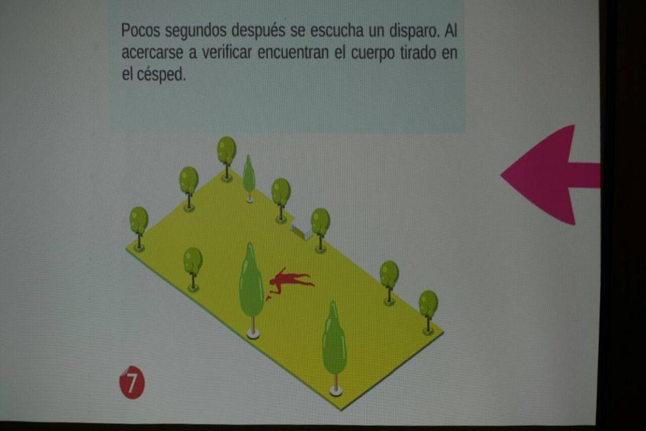 El cuerpo de Centeno fue encontrado sobre la grama del condominio. (Foto: Wilder López/Soy502)
