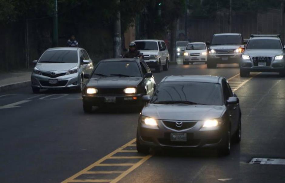 2016 cerrará con 80 mil nuevos vehículos circulando en la capital. (Foto: Archivo/Soy502)