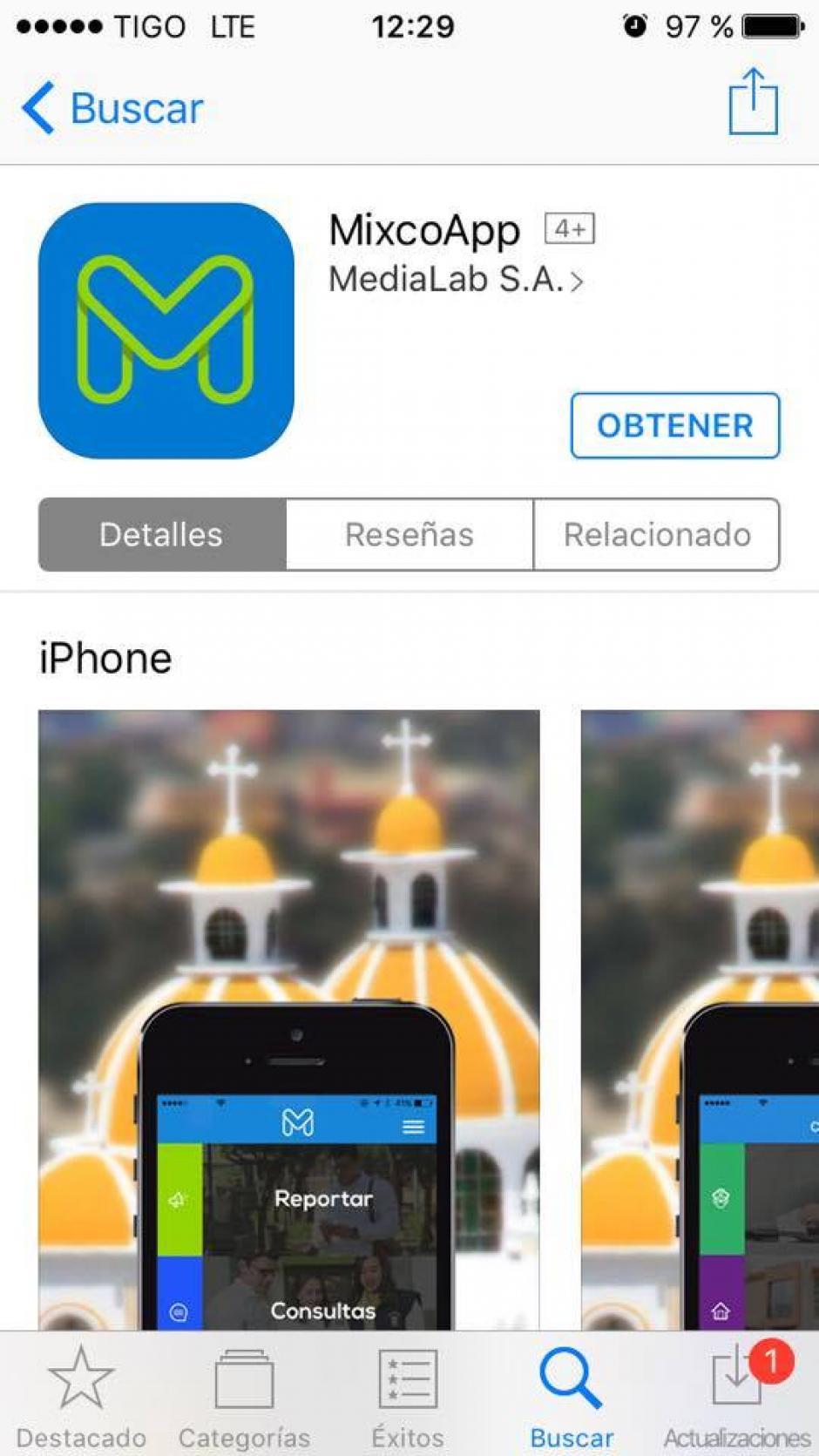 La app está disponible para iOS y Android. (Imagen: captura de pantalla)