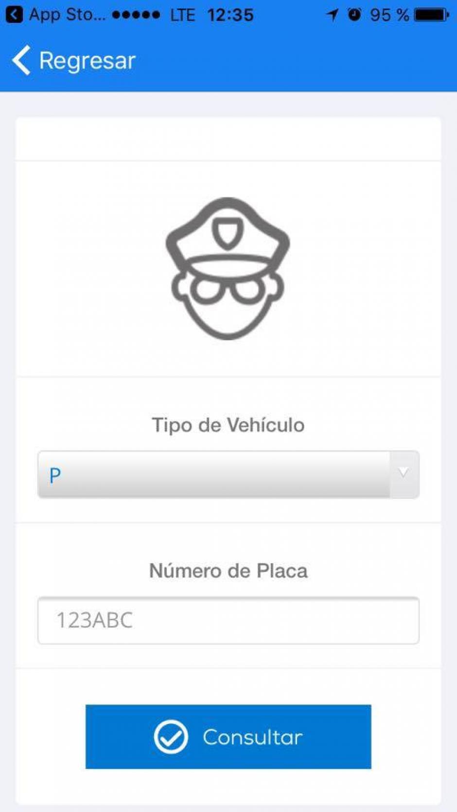 También puedes hacer consultas sobre multas de tránsito. (Imagen: captura de pantalla)