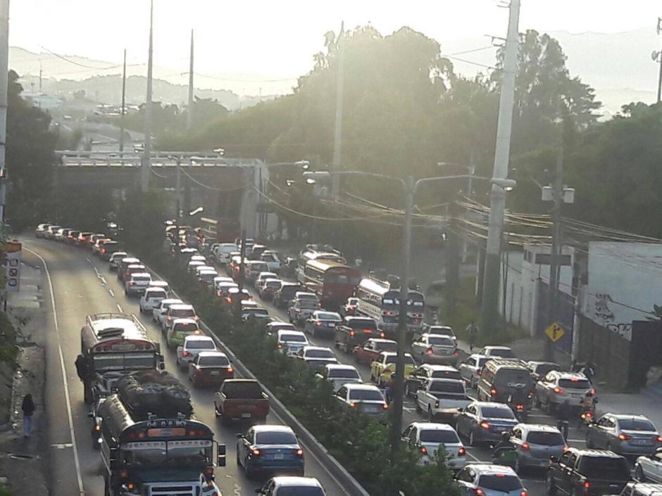 El tráfico estará complicado a partir de las tres de la tarde. (Foto: Archivo/Soy502)