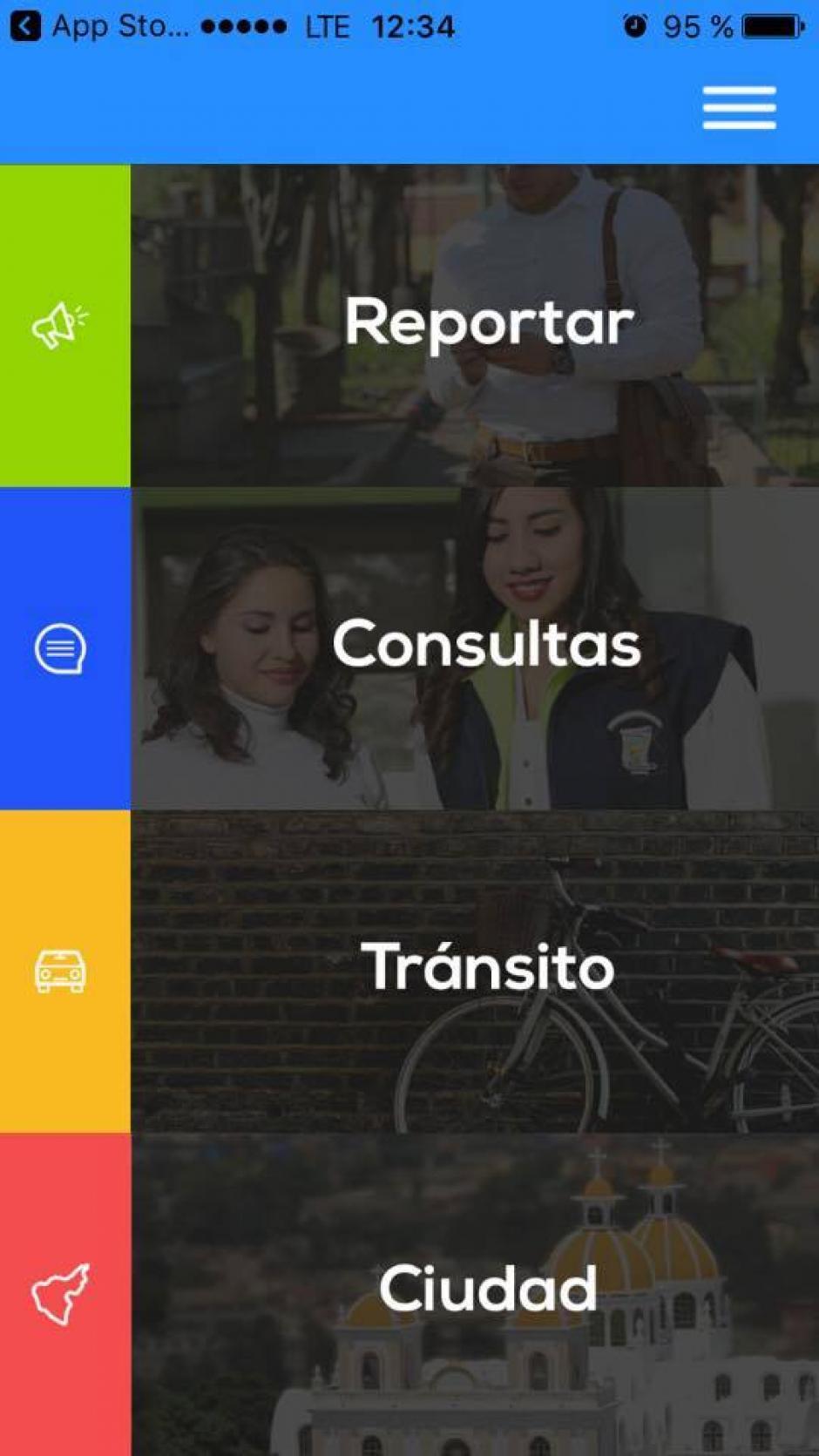 La app tiene diversas categorías en su bandeja. (Imagen: captura de pantalla)