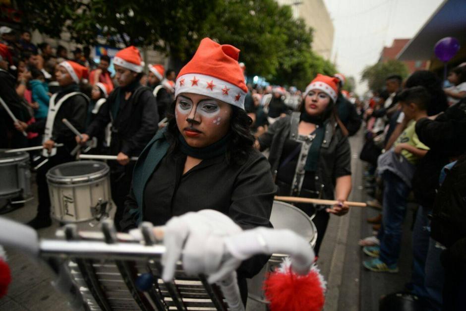 El recorrido inició en la municipalidad de Guatemala y culminará en el parque de Jocotenango. (Foto: Wilder López/Soy502)