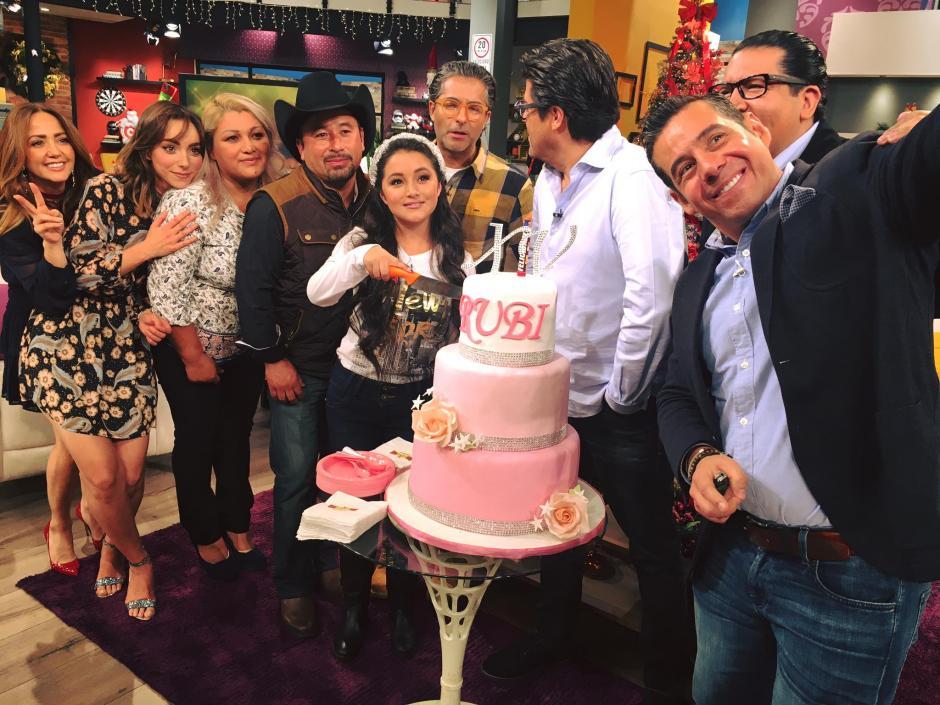 Rubí fue entrevistada en el programa Hoy, de la cadena Televisa. (Foto: Hoy)