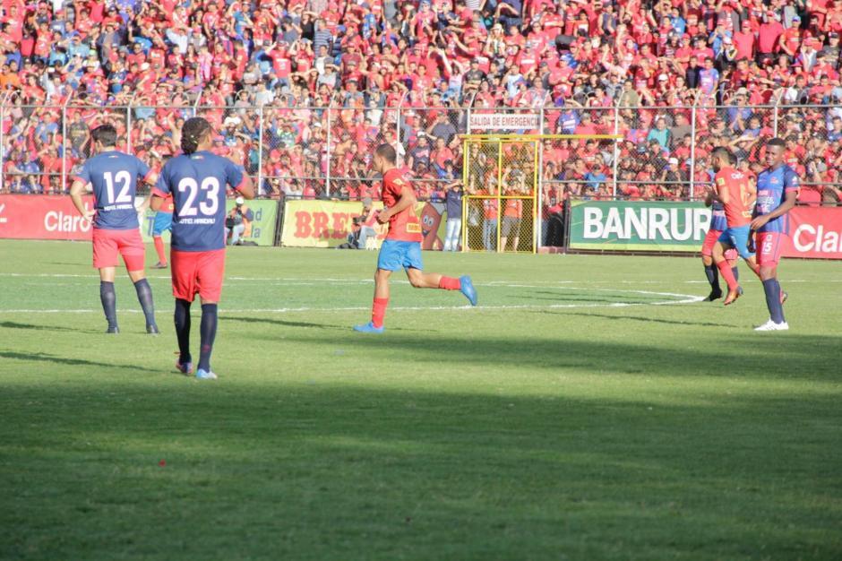 Los Rojos cerrarán la eliminatoria en casa. (Foto: Fredy Hernández/Soy502)