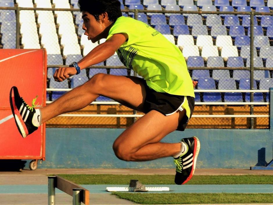 Mario es originario de Sansare, El Progreso, y sueña con ganar medallas para Guatemala. (Foto: Facebook)