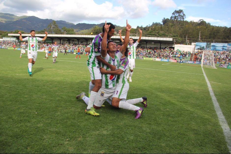 Antigua GFC logró obtener una importante victoria en el juego de ida de la final ante Municipal. (Foto: Fredy Hernández/Soy502)