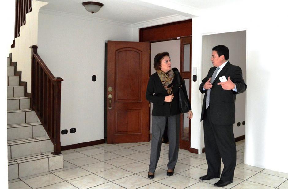 La procuradora, Annabella Morfin,informó que la casa les fue asignada por la Senabed. (Foto: PGN)