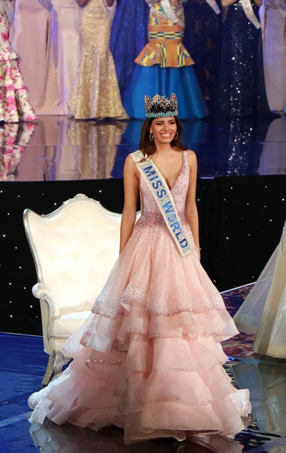 La nueva Miss Mundo era una de las favoritas. (Foto: El Heraldo)