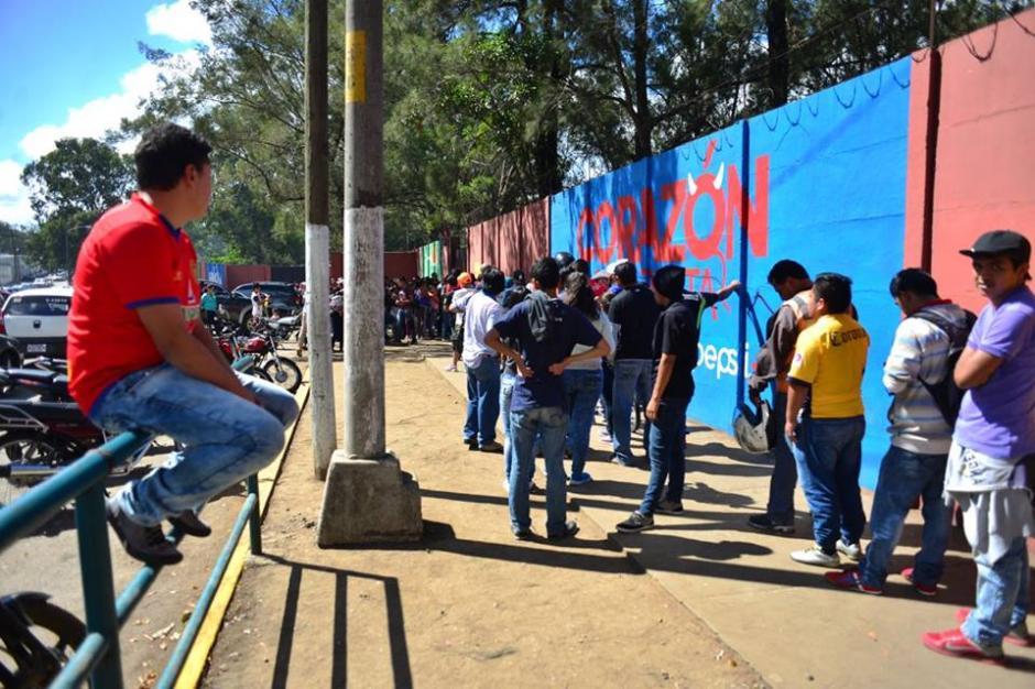 La preventa se mantendrá del jueves al sábado, previo al día del juego. (Foto: Jesús Alfonso/Soy502)
