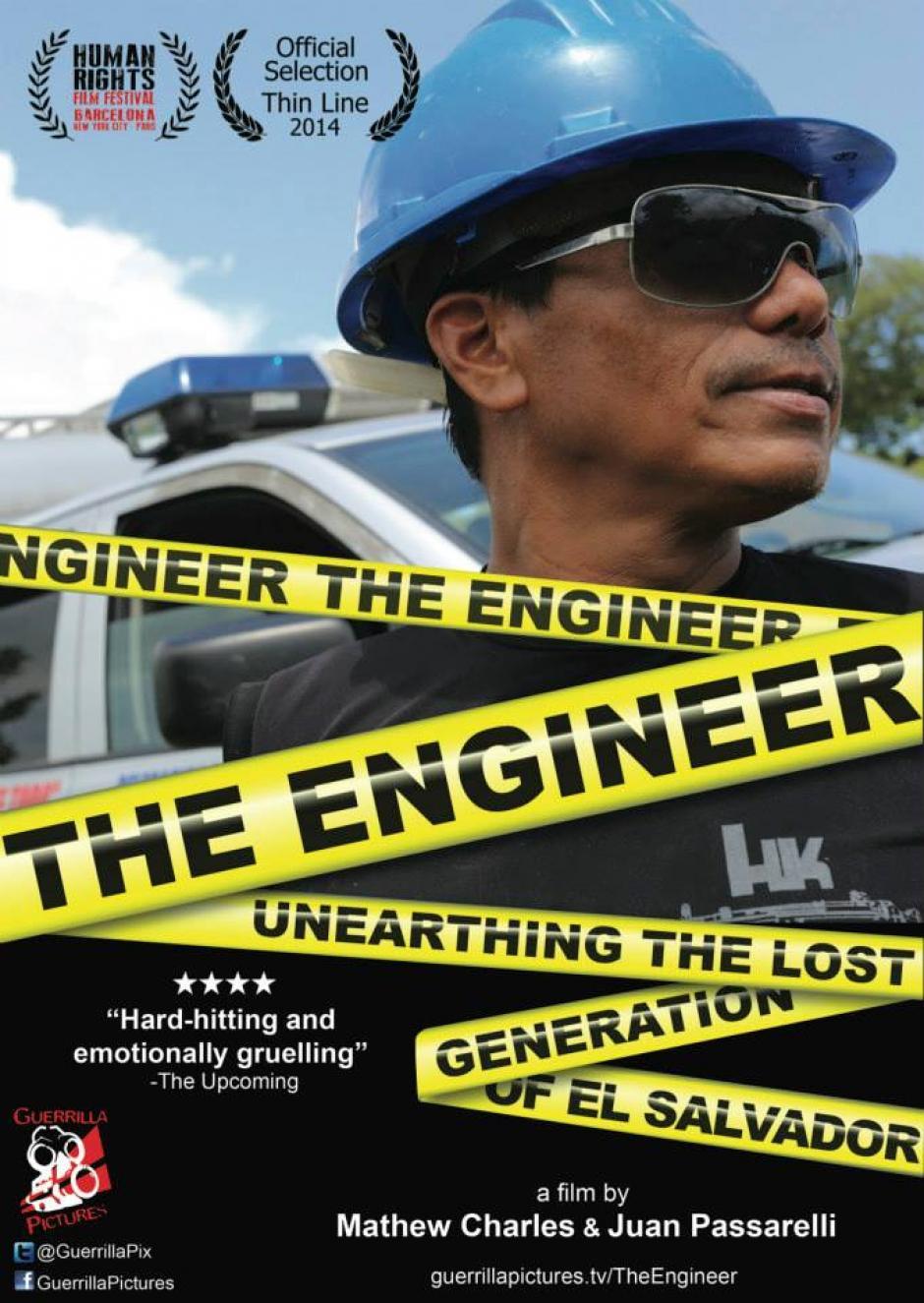 """Este es el afiche promocional del documental """"El Ingeniero"""". (Foto: Guerrilla Pictures/Facebook)"""