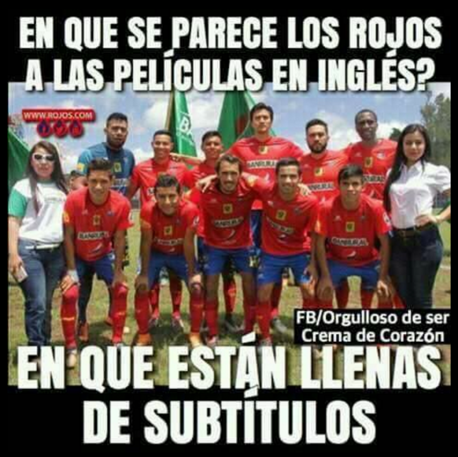 La Liga Nacional rechazó la petición del club rojo. (Foto: Twitter)