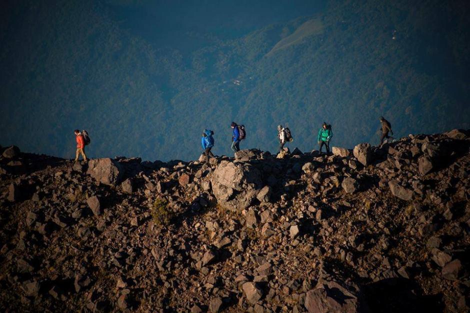 Conquistar el volcán Tajumulco, una travesía inigualable. (Foto: Marvin Castañeda)