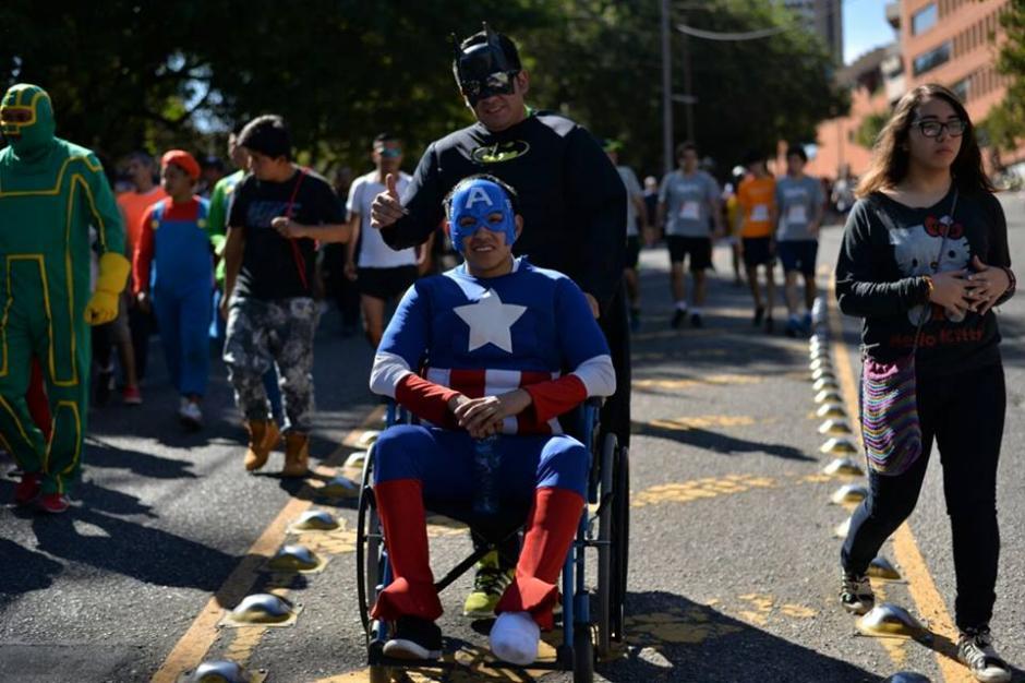 La carrera no presentó obstáculo alguno y todos pudieron participar. (Foto: Wilder López/Soy502)