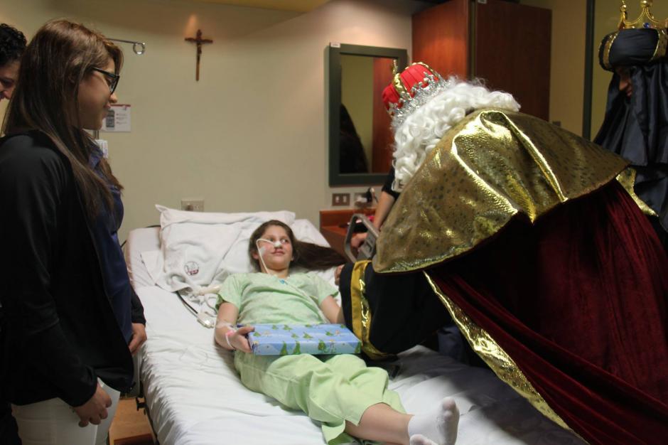 Ana Sofía atendió una invitación que le hiciera el Sanatorio El Pilar. (Foto: Facebook)