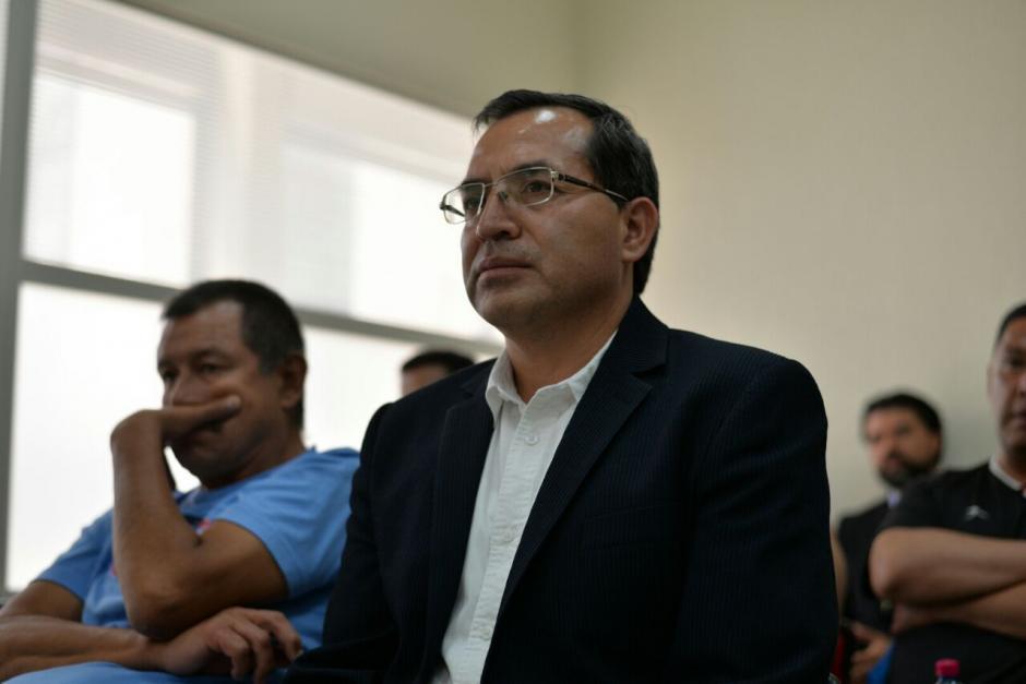 Elmer López, el exministro de Agricultura del Partido Patriota guarda prisión provisional en la cárcel Matamoros. (Foto: Wilder López/Soy502)