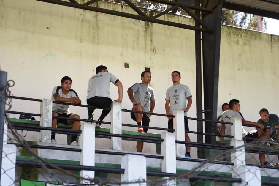 José Contreras ya se entrenó con Antigua GFC. (Foto: Nuestro Diario)