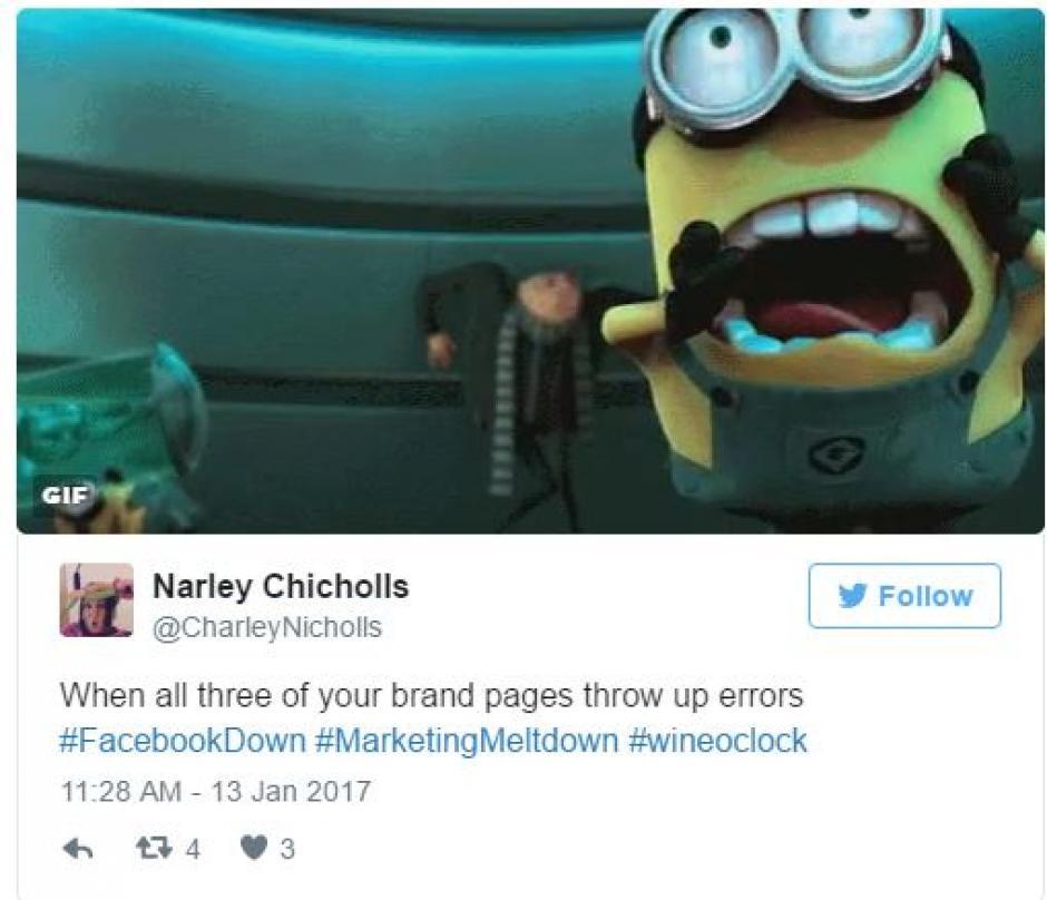 Creativos memes por la caída de Facebook. (Foto: Twitter)