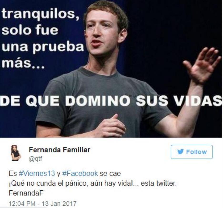 Mark Zuckerberg no podía faltar en los memes. (Foto: Twitter)