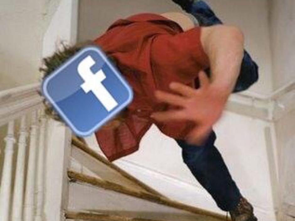 Así fue la caída de Facebook según los internautas. (Foto: Twitter)